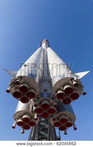 Rocket Vostok Front And Bottom