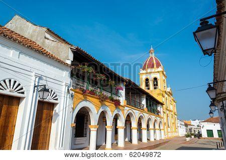 Church And Balconies