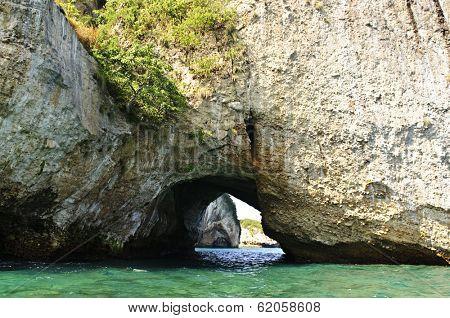 Los Arcos National Marine Park in Mexico near Puerto Vallarta