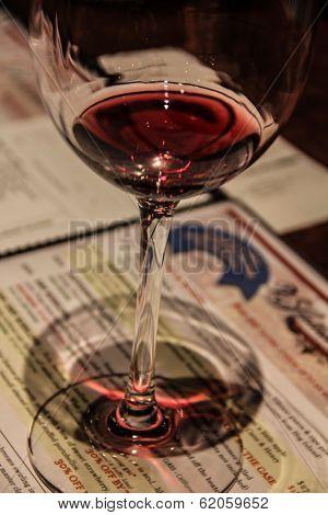 Wine tasting in Napa Valley.