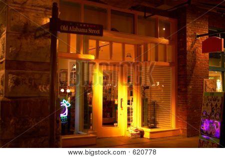 Store, Door And Light