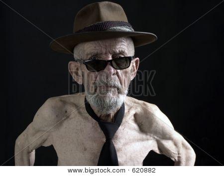 Senior With Sunglasses 2