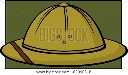 safari hat or pith helmet