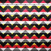 Seamless chevron pattern grunge texture background for design poster