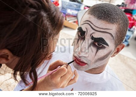 Circus Clown Makeup