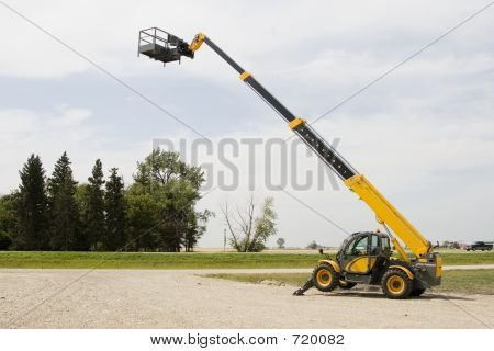 Construction Lift Or Cherry Picker