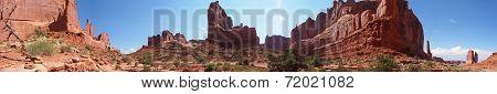 360 degree desert panorama