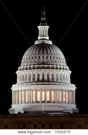 Capital Dome After Dark