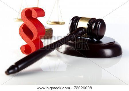 Paragraph of judge