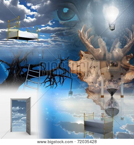 Dream Surreal All elements are my own creation and are wholly owned by me