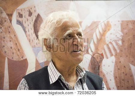 Ziraldo, Brazilian Author, Painter, Comic Creator, And Journalist.