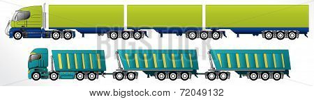 B Triple Road Train
