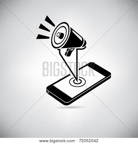 smart phone social media