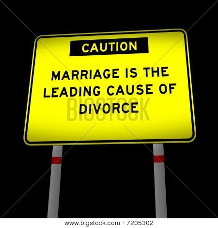 funny road message about marriage