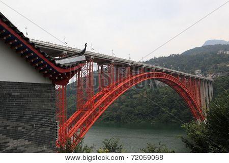 Chinese Hubei scenic