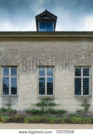 Three leaded Stone Mullion Windows
