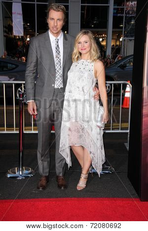 LOS ANGELES - SEP 15:  Dax Shepard, Kristen Bell at the