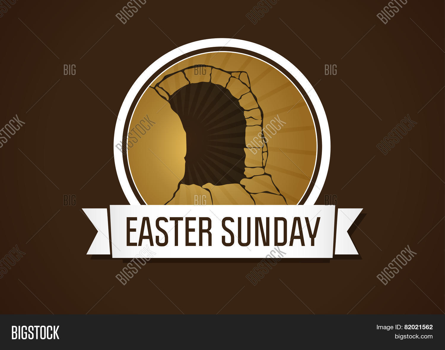 Easter sunday holy vector photo free trial bigstock easter sunday holy week vector card happy holiday greetings of jesus rising stopboris Images