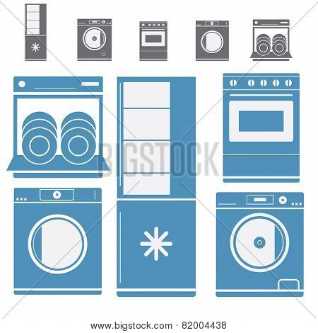 Kitchen Electronic Appliances Set