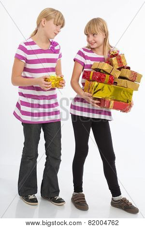 Comparing Gifts