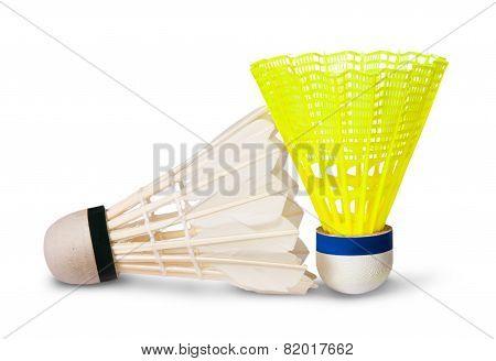 Two Badminton Shuttlecock