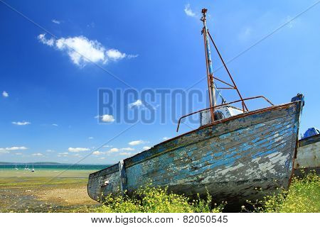 Ship wreck in Le Fret Crozon community Finist poster