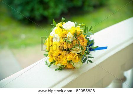 Yellow Wedding Bouquet
