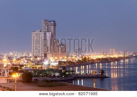 Ras Al-khaimah Corniche At Dusk