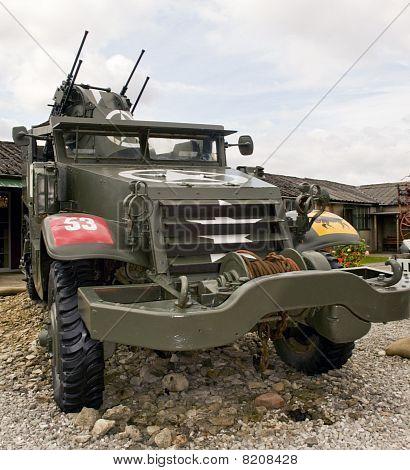 M3 USA armored vehicle.