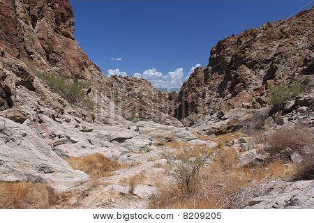 Harsh terrain in Nevada