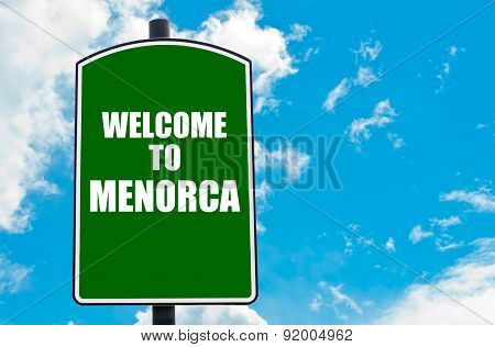 Welcome To Menorca