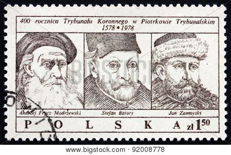 Postage Stamp Poland 1979 Royal Tribunal