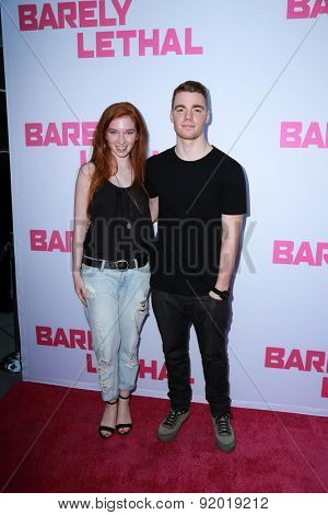 LOS ANGELES - MAY 27:  Annalise Basso, Gabriel Basso at the