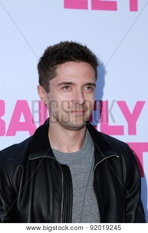 LOS ANGELES - MAY 27:  Topher Grace at the