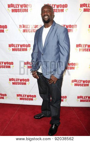 LOS ANGELES - MAY 27: Jerome Ro Brooks at the Marilyn Monroe Missing Moments preview at the Hollywood Museum on May 27, 2015 in Los Angeles, California