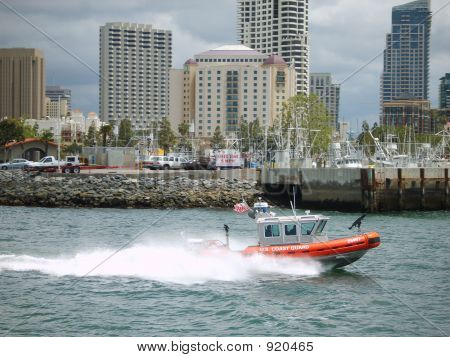 Us Coast Guard In Action