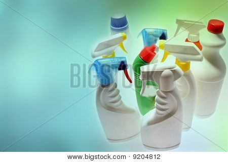 Cleaning Bottles