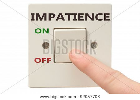 Anger Management, Switch Off Impatience