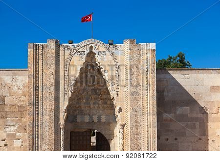 Sultanhani caravansary on the Silk Road - Turkey