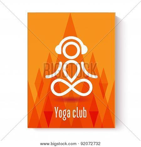 Yoga design concept