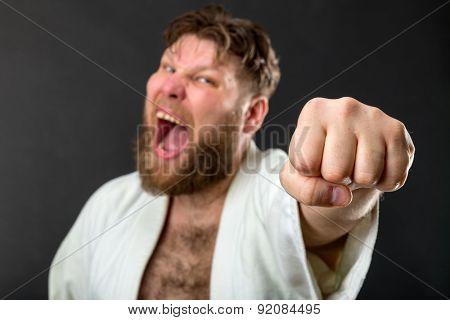 Mad karateka