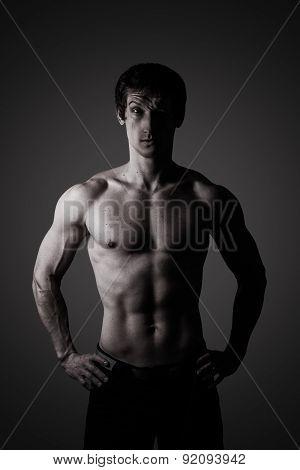 Portrait Of An Athlete