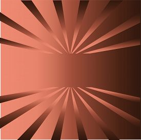 Brown rays background with place for your text