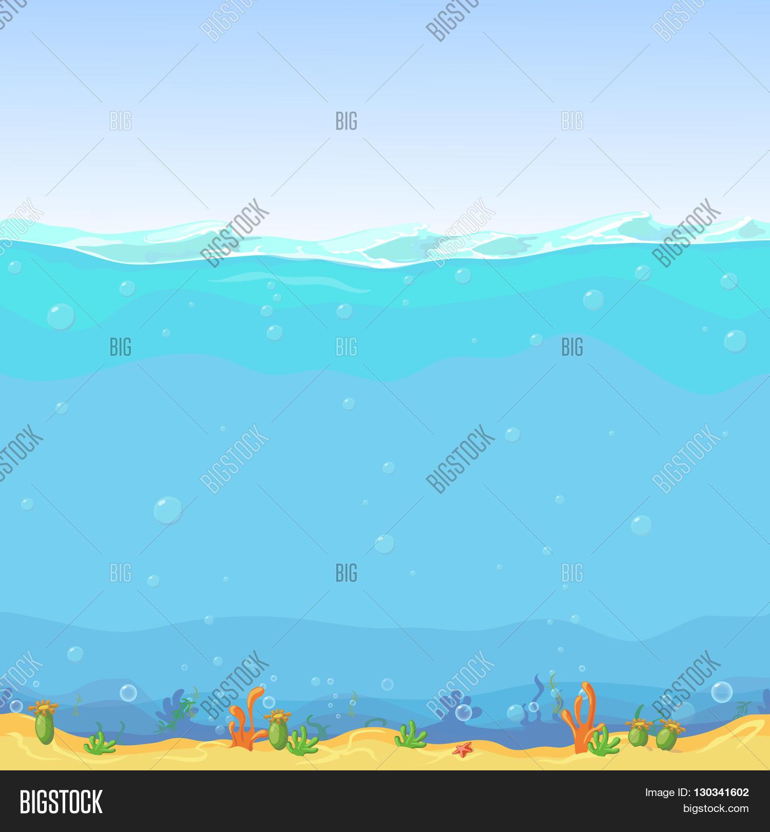Underwater Seamless Image Photo Free Trial Bigstock
