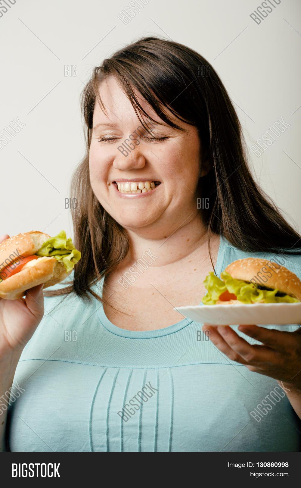 Big fat white woman