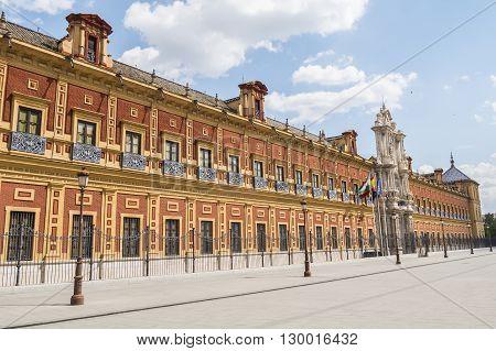 San Temo Palace Seville Spain (Palacio de San Telmo Sevilla)