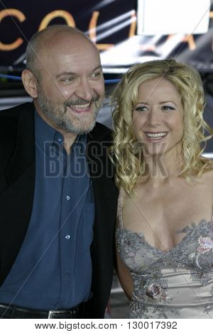 Julie Richardson and Frank Darabont at the Los Angeles premiere of 'Collateral' held at the Orpheum Theatre in Los Angeles, USA on August 2, 2004.