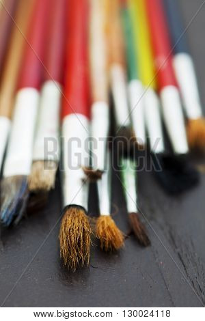 School Paintbrushes