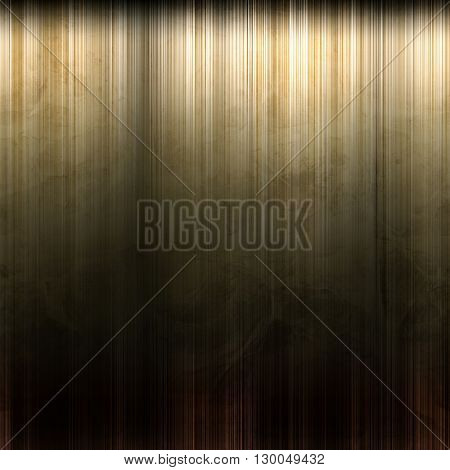Perfect polished gold metal background
