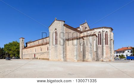 Santa Clara Church in the city of Santarem, Portugal. 13th century Mendicant Gothic Architecture.